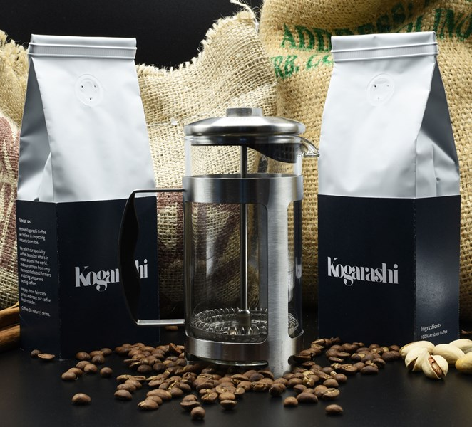 Specialty coffee starter kit