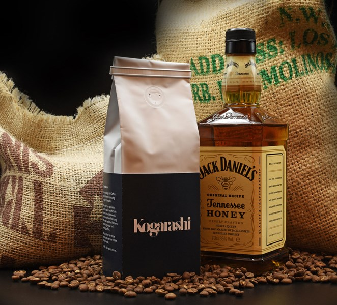 Guatemalan Coffee infused with Jack Daniel's Honey Whisky - 150g bag